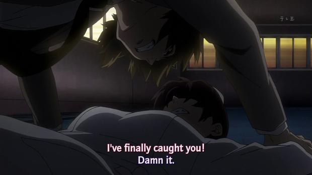 mirai nikki 12 you re under arrest draggle s anime blog