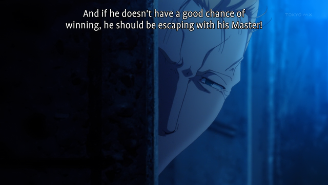 Fate Zero 16 Chivalry Ruthlessness And Mercy Draggle S Anime Blog