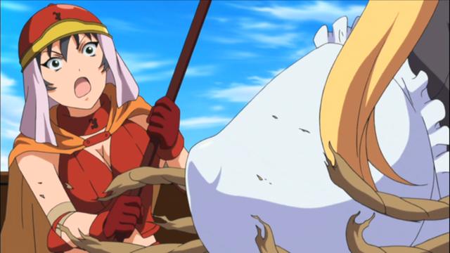 Breast Anime bare