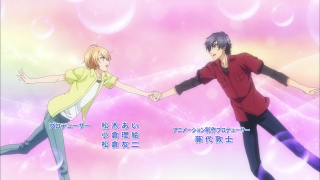Guy And Cross Dressing Holding Hands Getting All Lovey Dovey Flowers Blossoming Pink Backgrounds That No