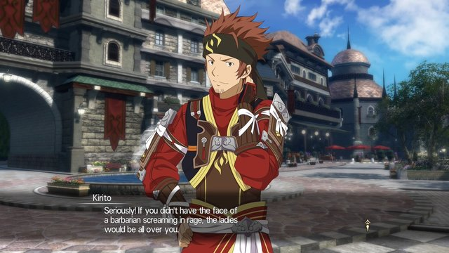 Sword Art Online Hollow Realization 06 — Kirito and Klein Discover
