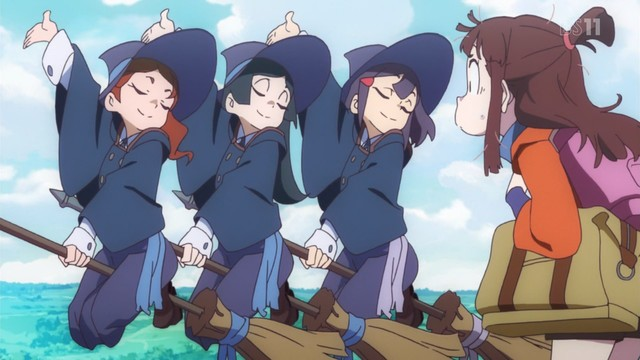 Little Witch Academia — First Impressions | Draggle's Anime Blog