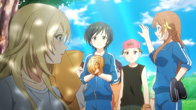 Hachigatsu no Cinderella Nine — First Impressions   Draggle's Anime Blog